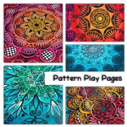 Workshop Thursday 19th March 2020 - Pattern Play Pages Workshop with Tracy Scott